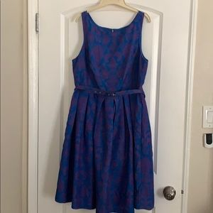 Modcloth Innate Fit and Flare in Damask 1x